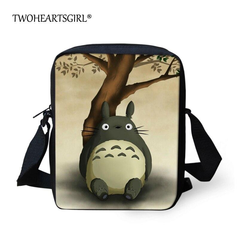 Twoheartsgirl Nette Kinder Kinder Mini Messenger Bags Karikatur Anime Mein Nachbar Totoro Crossbody-tasche Für Baby Mädchen Frauen Handtasche Eine GroßE Auswahl An Modellen Crossbody-taschen Gepäck & Taschen