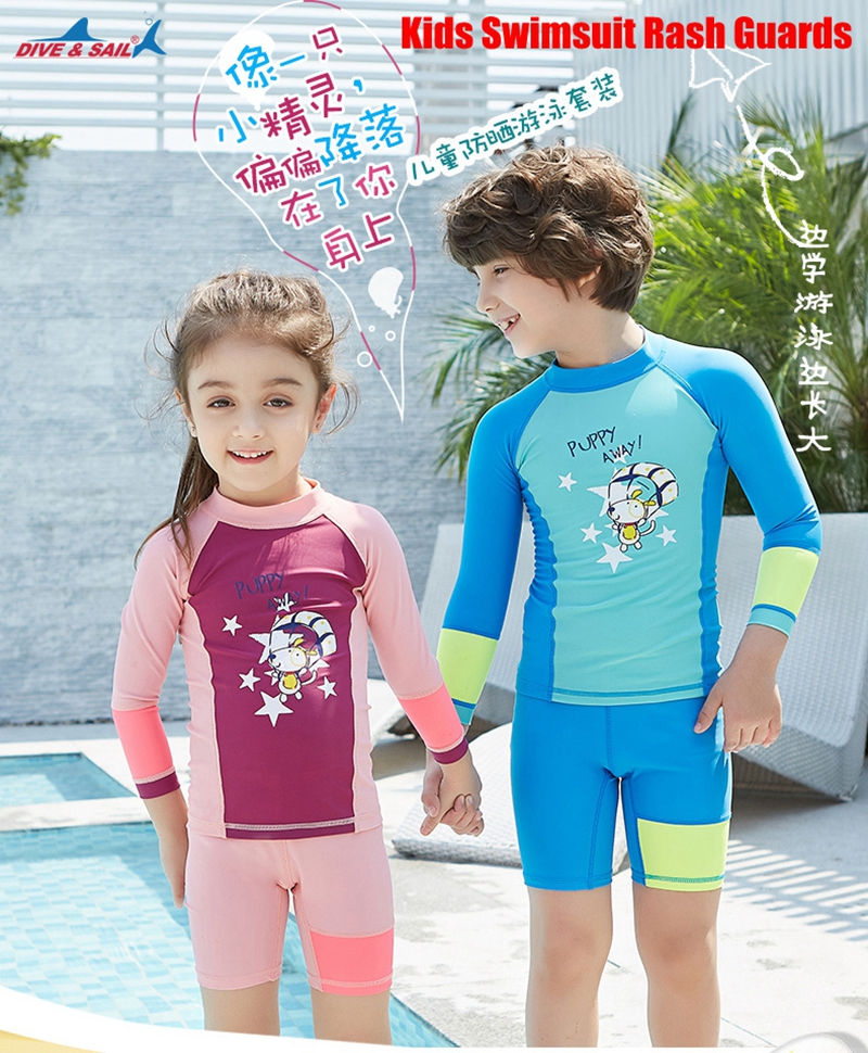 ca5f4d5cc7fe1 Gender: Kids Length: Long Sleeve, Short Pants Season: Spring, Summer,  Autumn, Winter Sun Protection: UPF 50+. Color: As the picture. Features: