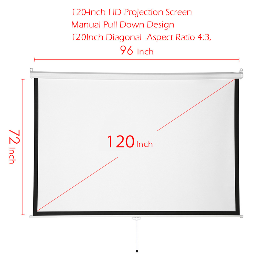 "1 * 120"" 4:3 Projection Screen 1 * User Manual"