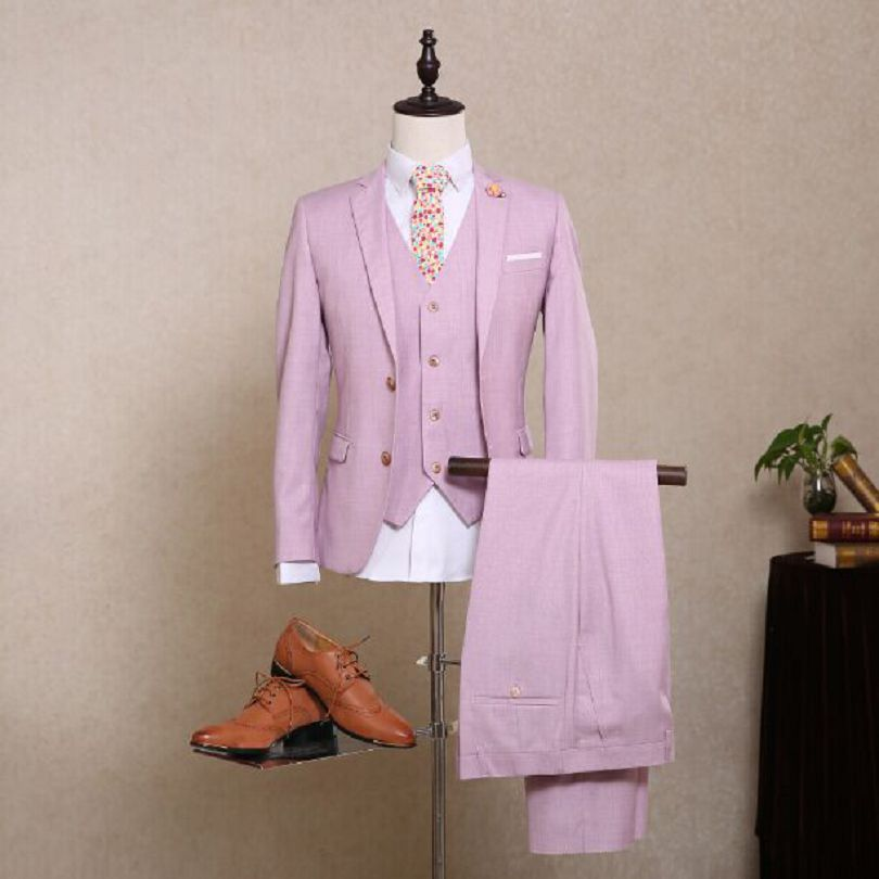 Popular Mens Lavender Suit-Buy Cheap Mens Lavender Suit lots from ...