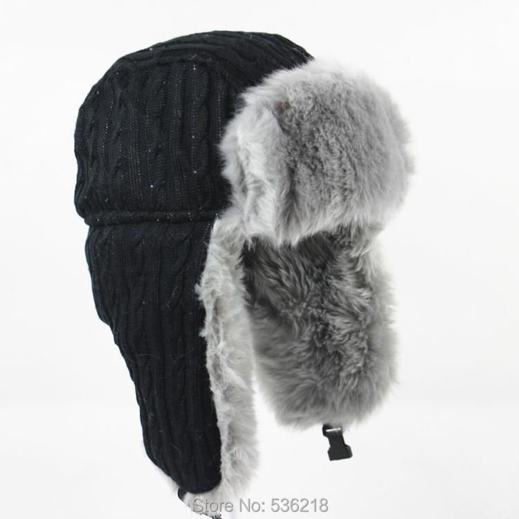 Wholesale Hot Sale Warm Winter Bomber hats Russian aviator hat men ... 6f6c02d38