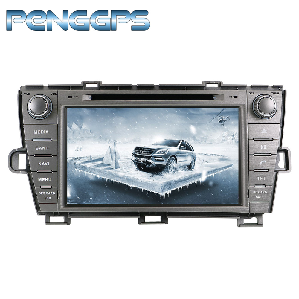 2 Din Android 8 0 Car CD DVD Player 8Core GPS Navigation for Toyota Prius 2009