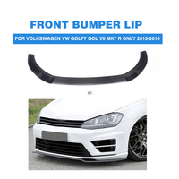 Carbon Fiber / FRP Front Lip For Volkswagen VW Golf 7 R Only 2015 2016 Auto Racing Car Front Bumper Lip Spoiler