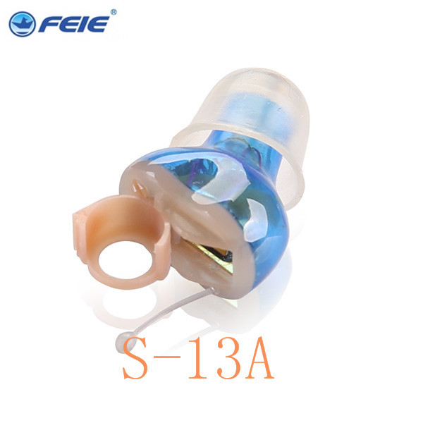 Hearing Aid With Telecoil Micro Ear Hearing Aid Cic for Pakistan with Best Price FDA CE S-13A Drop Shipping micro hearing aid for the elderly audiophone hearing aid answer telephone my 22 free shipping