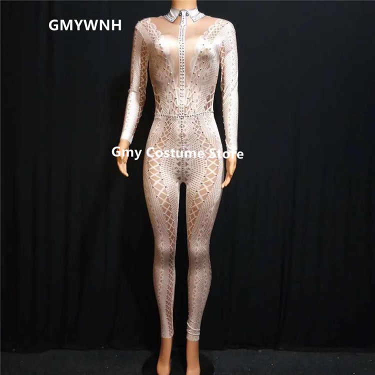 X02 женский полюс танцевальный комбинезон с принтом кружева комбинезон черные костюмы со стразами бальные танцы певица одежда платье для дискотеки костюм