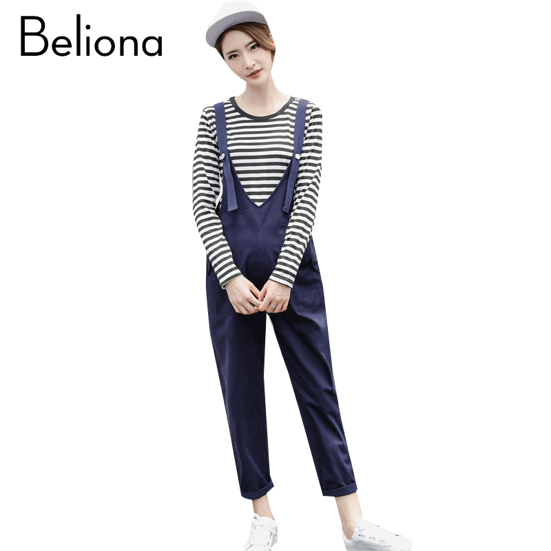New Fashion Cotton Maternity Pants 3 Colors Suspenders Trousers Overalls Braces Pants for Pregnant Women Pregnancy Clothes plus size pants the spring new jeans pants suspenders ladies denim trousers elastic braces bib overalls for women dungarees