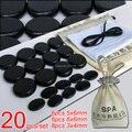 ¡ Nuevo! 20 unids/set SE colgante conjunto Salón de Belleza SPA con calentador de piedra Caliente del CE y ROHS