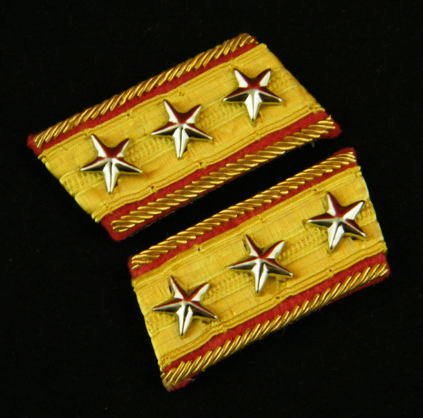 WWII IMPERIAL JAPANESE ARMY GENERAL COLLAR TABS -35382