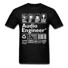 Cool Audio Engineer Multitasking Beer-Coffee Problem T-shirt