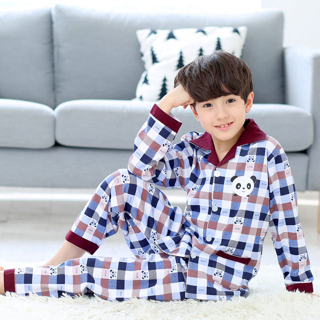 Children Boys Pajamas Panda Pyjamas Sleepwear Unicorn Pajamas Children Boys  Pyjamas Robocar Poli Pyjama Fille Long Sleeve Suit 9d6cad128a2d