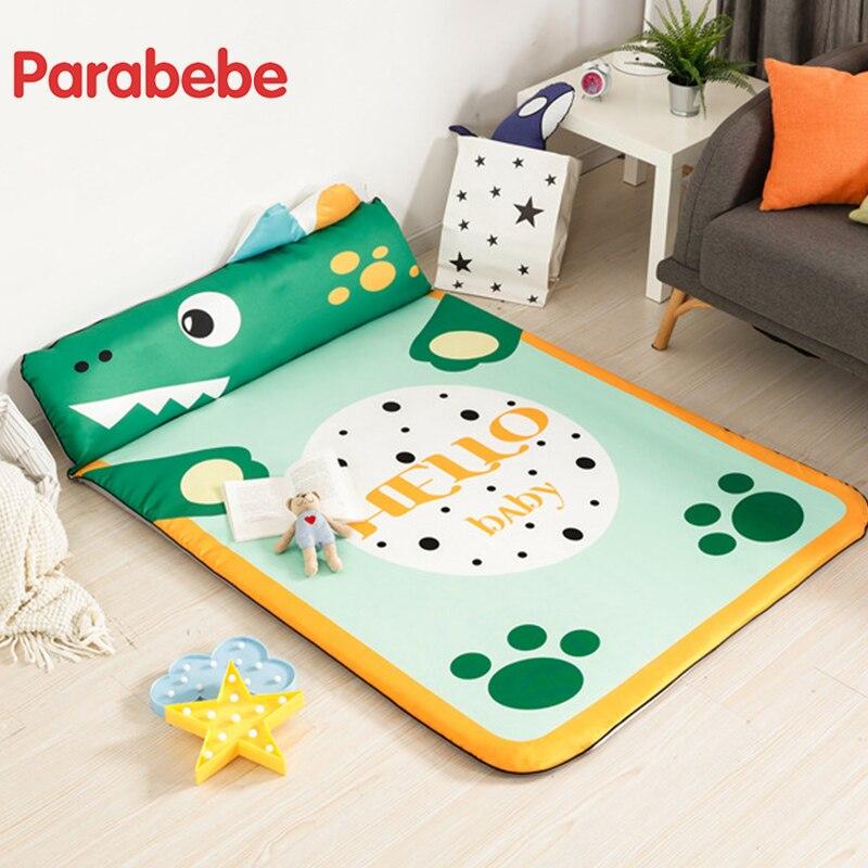 125X185 CM haute qualité bébé jouer tapis ramper tapis Surface bébé tapis tapis Animal développement tapis enfants jeu Pad avec oreiller