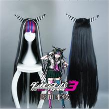 Anime Danganronpa Dangan Ronpa Mioda Ibuki Cosplay Wigs 100cm Long Heat Resistant Synthetic Hair  Cosplay Wig + Wig Cap