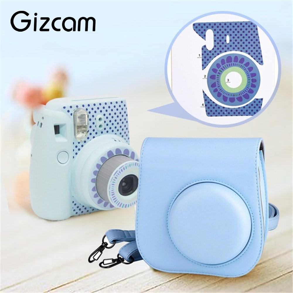 Gizcam 11 In 1 Instant Film Camera Accessories Bundles Set For Fujifilm Instax Mini 8 Gift