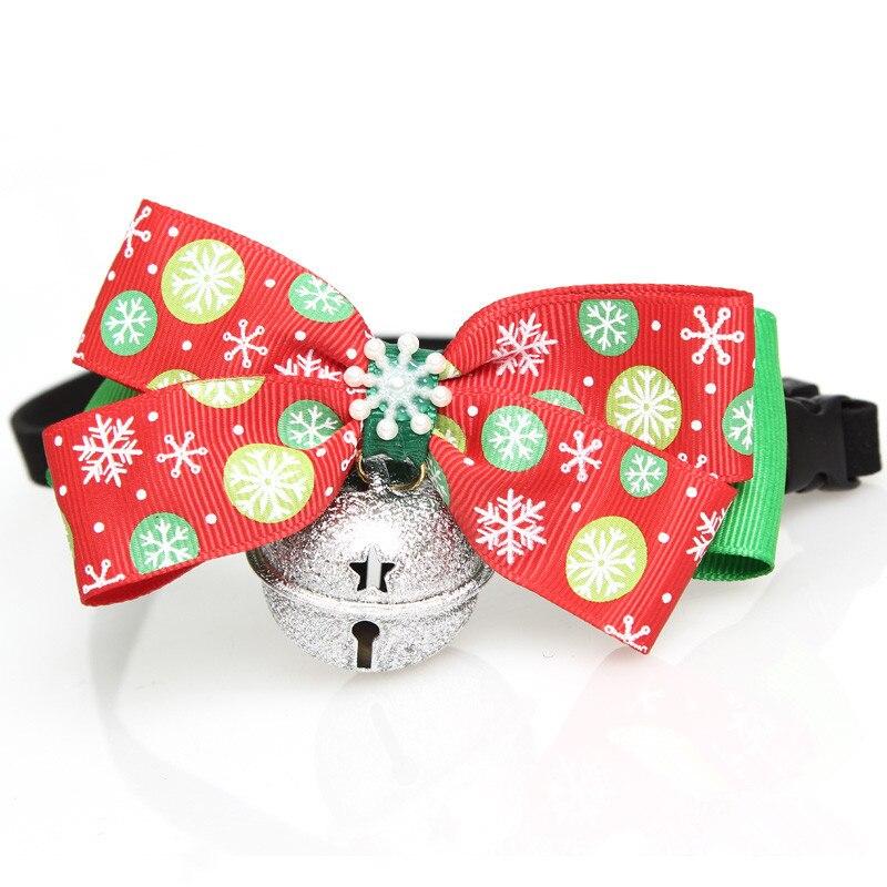 Navidad pet cat dog corbatas pajaritas lindo collar pet puppy dog cat ties acces