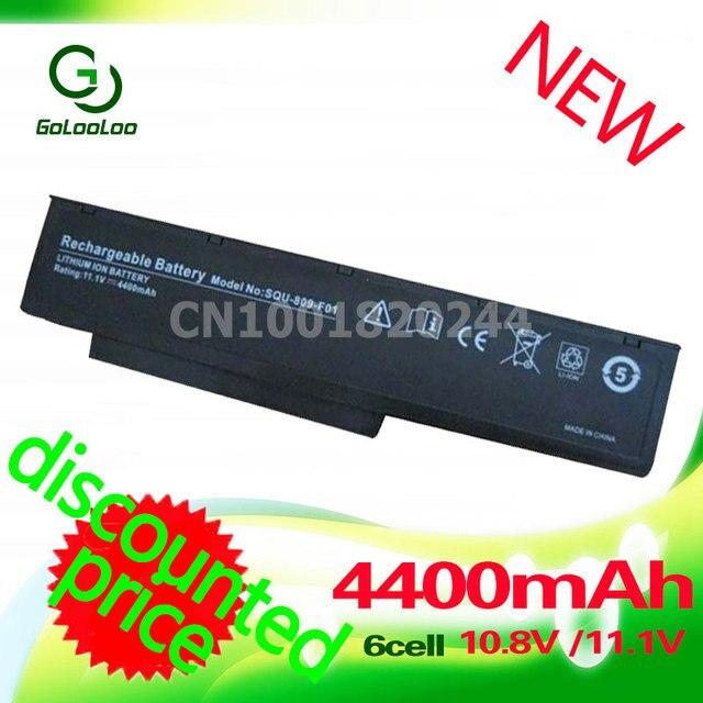 Golooloo SQU-809-F01 SQU-809 SQU-809-F02 3UR18650-2-T0182 Battery for Fujitsu Amilo Li3710 Li3910 Li3560 Pi3560 Pi3660