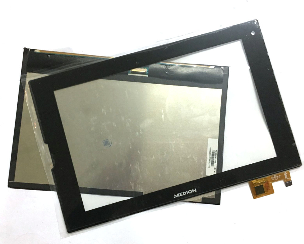 New touch screen Panel Digitizer Sensor Glass / LCD Display Matrix For Medion Lifetab P8912 MD99066 P8911 MD99118 Replacement цена