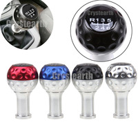 Blue Red Black Silver Universal Car Auto Manual 5 6 Speed Gear Shift Knob Shifter Lever