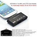 Умный микро-карточка USB 11pin мхл в микро-hdmi OTG кабель адаптера набора соединения камеры для Samsung Galaxy S3 S4 примечание 2