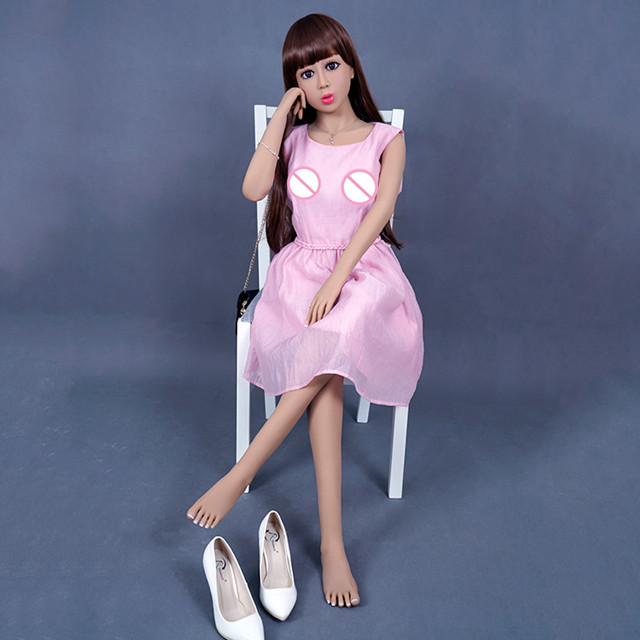 Sex Dolls 140cm #15 Full TPE With Skeleton Adult Japanese Love Doll Vagina Lifelike Pussy Realistic Sexy Doll For Men