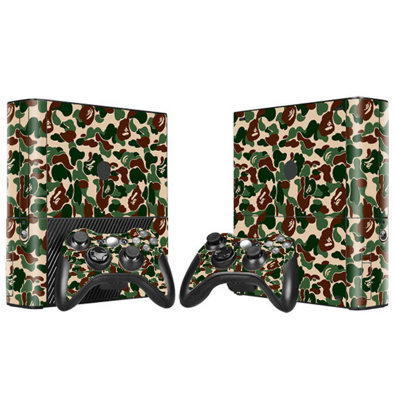 Factory Made High Quality create your own gaming skin for xbox 360 E skin ...