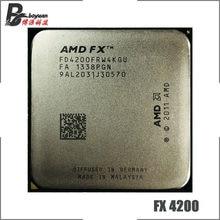 AMD FX-Series FX-4200 FX 4200 3,3 GHz Quad-Core CPU procesador FD4200FRW4KGU hembra AM3 +