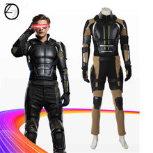 X-men Apocalypse Cosplay Costume x-men Apocalypse Hank bête Cyclops combinaisons de nuit Halloween Costume adulte unisexe(China)