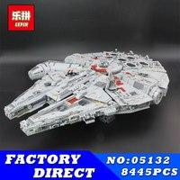 Лепин 8445 05132 шт. Star Series Wars наборы Ultimate Коллекционная модель Разрушитель строительные блоки кирпичи детские игрушки подарки 75192