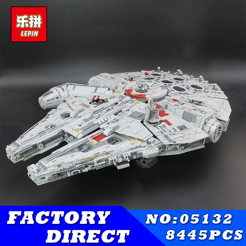LEPIN 05132 8445pcs Star Series Wars Kits Ultimate Collector's Model Destroyer Building Blocks Bricks Children Toys Gifts 75192 baffin crystal aurore boreale page 2