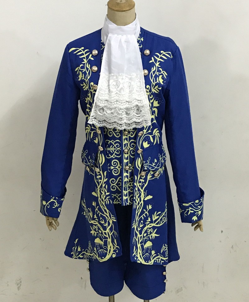 2017 Movie Beauty and The Beast Beast cosplay costume Halloween costumes for adult Prince outfit Beauty and the Beast costume