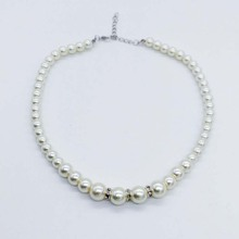 Exquisite Simulated Pearl Bracelet Earring Necklace