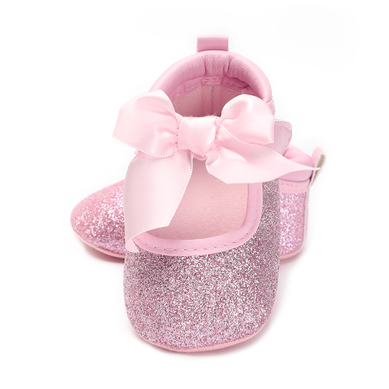 Baby girls shoes prewalker kids first step Skid Proof crib shoes brand bowknot princess for babies