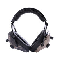 Camo Electronic Hearing Protection Earmuffs Noise Reduction Sports Shooting Hunting Tactical Ear Muff Ear Protector For Hunting