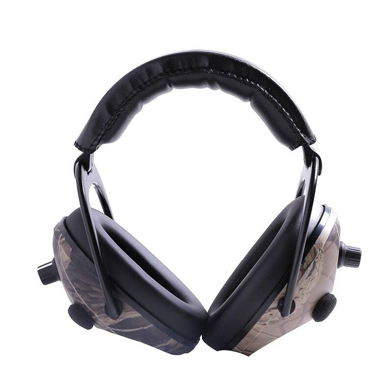 Camo Elektronische Gehör Schutz Ohrenschützer Noise Reduktion Sport Schießen Jagd Taktische Ohr Muff Ohr Protector Für Jagd
