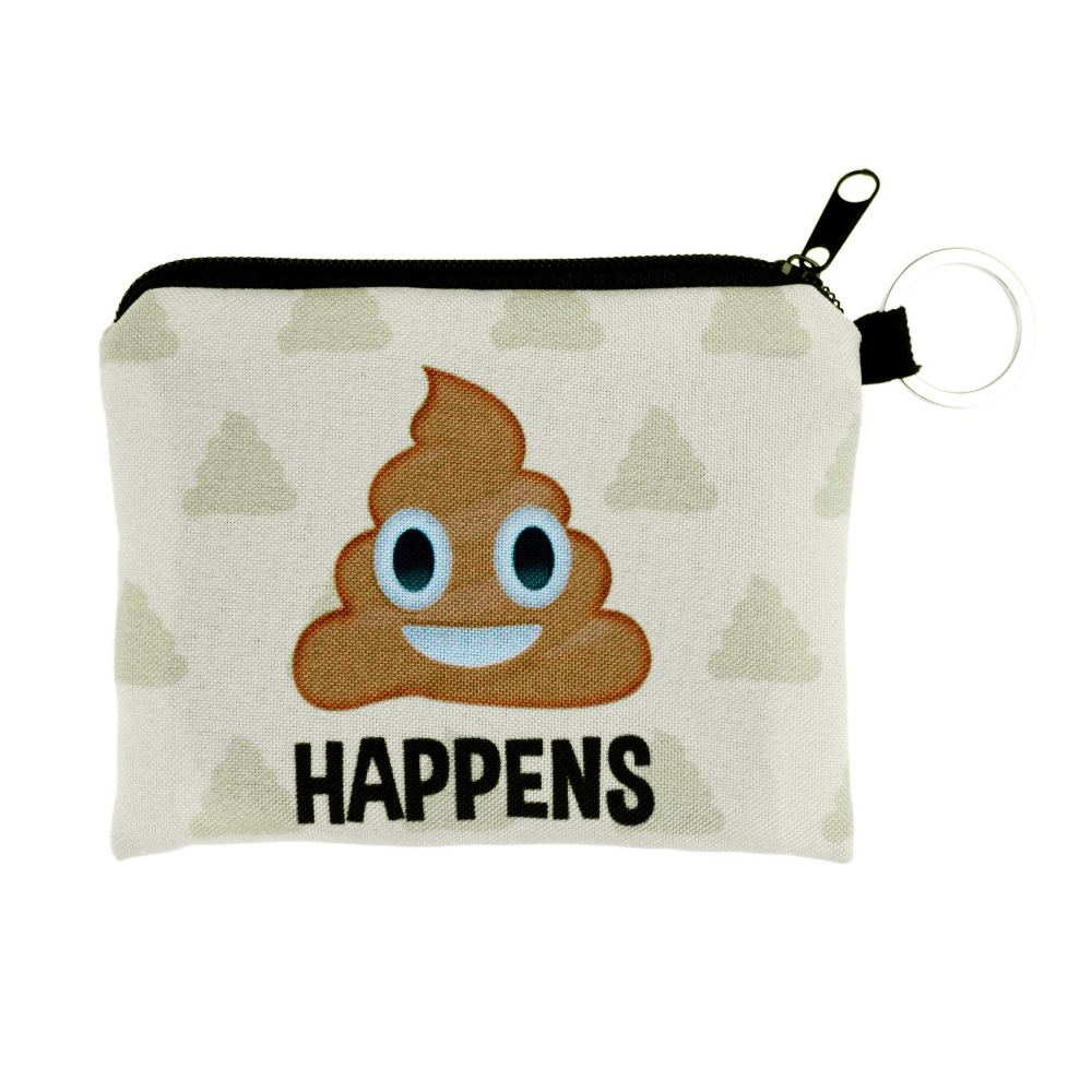 Girl Boy Printing Coins Change Purse Clutch Cute Zipper Polyester Zero Wallet Phone Key Bags Drop Ship Wholesale #Y girl coins purse printing zipper change clutch wallet bag cute emoji key bags monedero para monedas 7111