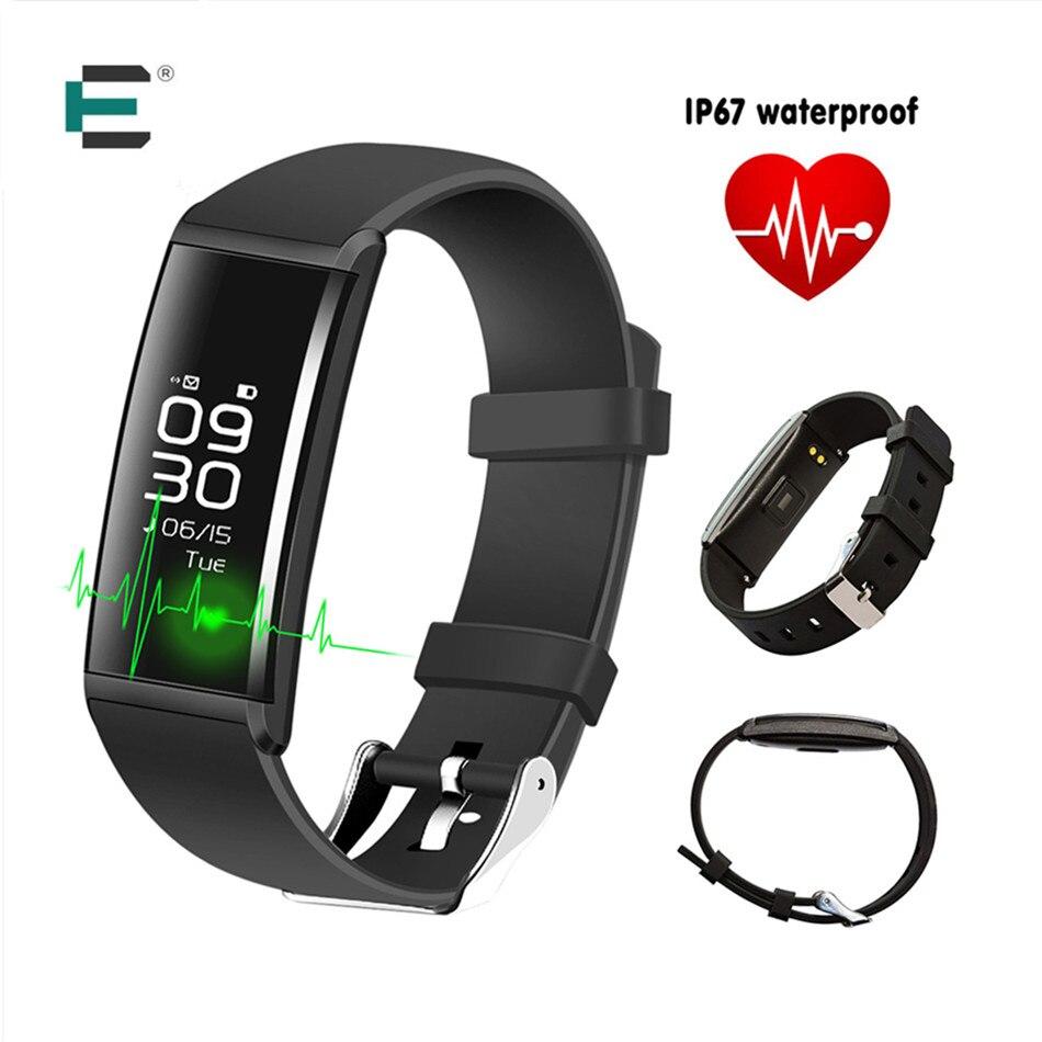imágenes para X9 Inteligente Pulsera Banda de Frecuencia Cardiaca Monitor de Presión Arterial IP67 a prueba de agua Pulsera Smartband Rastreador de Ejercicios Para IOS Android