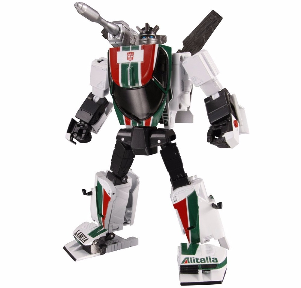 все цены на Lensple Transformation MP20 Robot MP-20 Wheel jack MP MasterPiece Series KO Action Figure Collection Robot Kids Toys онлайн