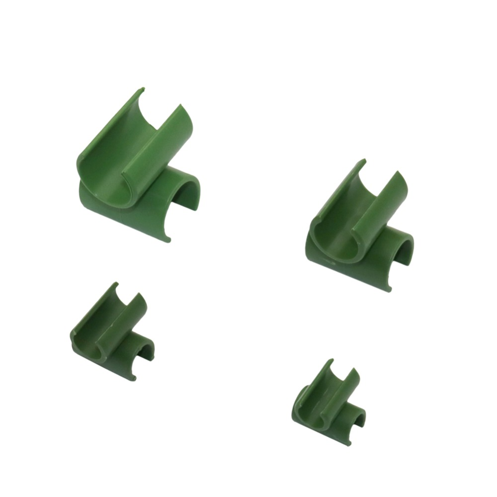 Plant Support Fixed Cross Clip Gardening Plant Grafting Stakes Connector Clip Suitable For Plant Stakes 20 Pcs
