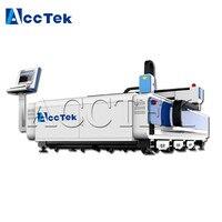 Jinan Acctek heavy duty cnc fiber laser cutter machine
