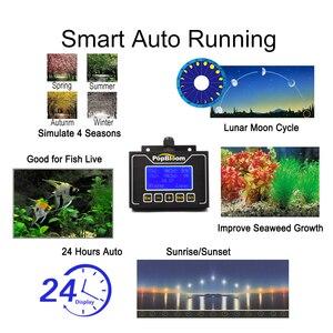 Image 3 - PopBloom Led 수족관 조명 식물에 대 한 전체 스펙트럼 민물 물고기 탱크 수족관 Led 조명기구 프로그래밍 가능한 Turing75
