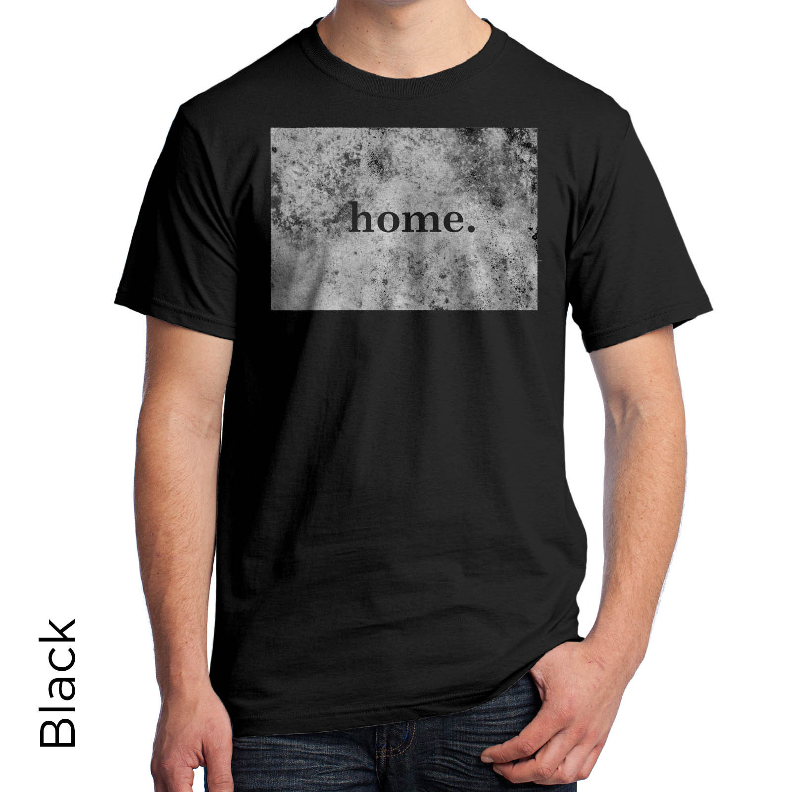 Wyoming Home Grown Graphic T-Shirt State Very Cool Map Unique Mens Womens 101