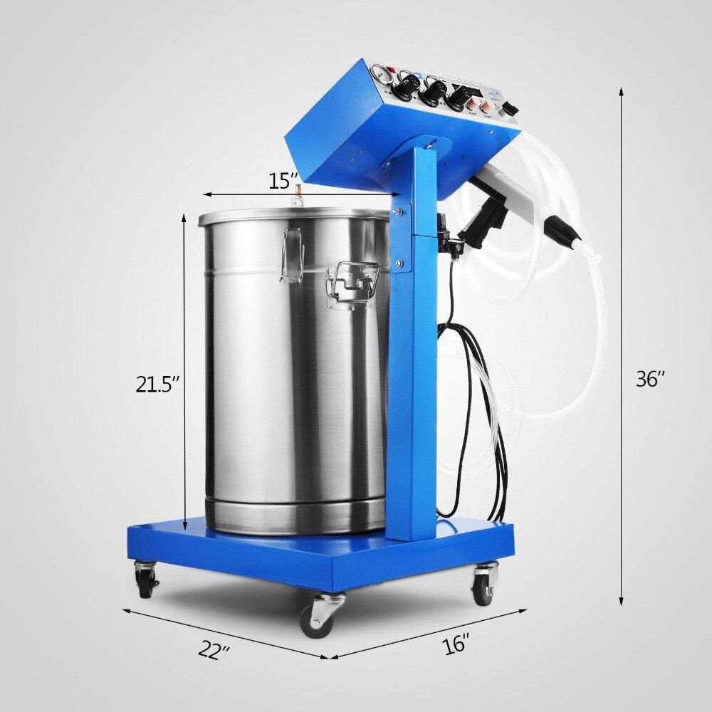 WX-958 Spray Gun Paint System Electrostatic Powder Coating Electrostatic Spraying Machine