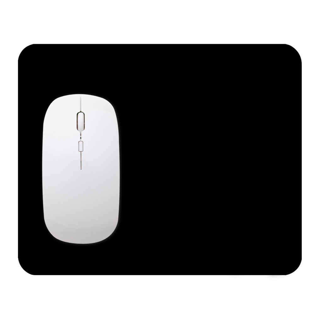 New Arrival Solid Color Ultra Thin Student Fabric Gaming Mouse Pad Colorful Mat Tasteless Non Slip Gift