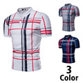 2018 Summer Trend Mens Casual <font><b>Polo</b></font> Men Solid Plaid Mens <font><b>Polo</b></font> Shirts Fashion Men s New Striped Lapel Short Sleeve Mens <font><b>Polo</b></font> Shirt