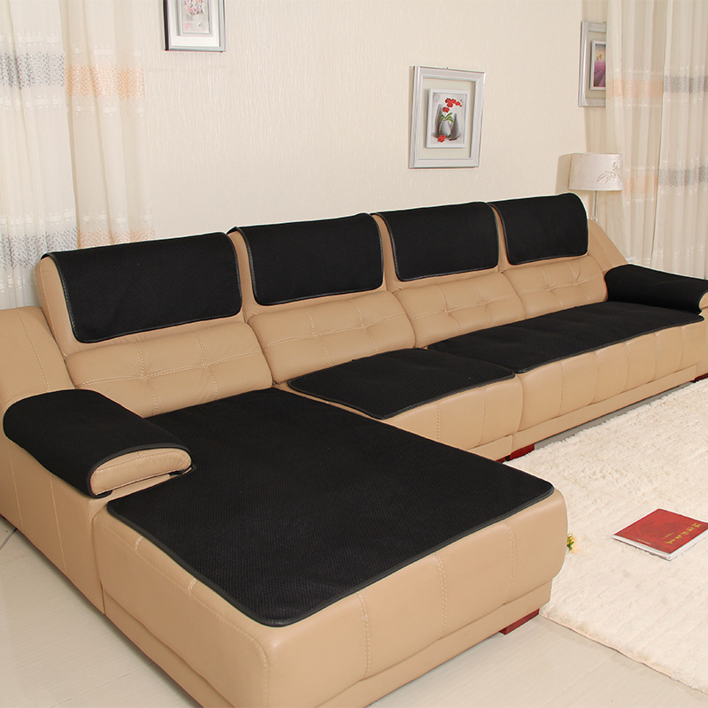 Breathable Mesh Leather Sofa Cover Anti
