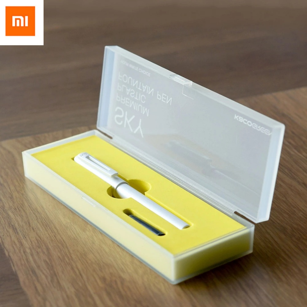Galleria fotografica Original <font><b>xiaomi</b></font> mijia pens,KACO SKY 0.3mm-0.4mm pens,with pens box and Ink bag , used to EU adater For <font><b>xiaomi</b></font> <font><b>mi</b></font> home smart home