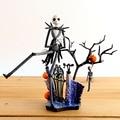 Ciencia ficción Revoltech serie no. Jack Skellington acción PVC figura de colección modelo de juguete 18.5 cm KT1755