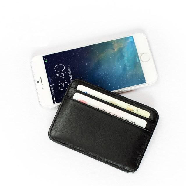 Aero Genuine Leather Card Holder