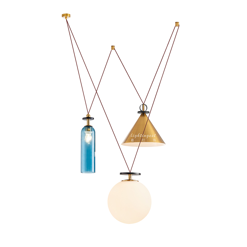 Post Modern Pendant Lights for Dining Room Livingroom Hanging Lamp Home Decoratio Creative Loft Gold Nordic Iron Glass Cord E27 Post Modern Pendant Lights for Dining Room Livingroom Hanging Lamp Home Decoratio Creative Loft Gold Nordic Iron Glass Cord E27