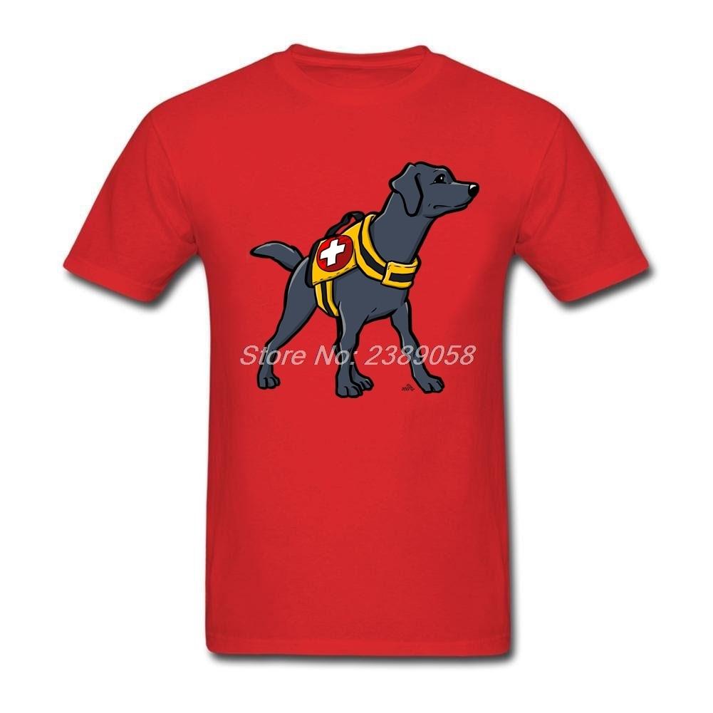 Man men labrador rescue dog t shirt custom short sleeve for Dog t shirt for after surgery