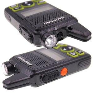 Image 3 - Baofeng BF T1 Mini Radio bidirectionnelle tenue dans la main UHF 400 470MHz 20CH FM talkie walkie avec écouteur ou + câble USB